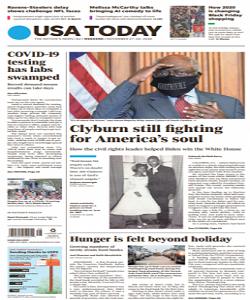 USA Today Magazine 27 To 29 November 2020 | USA Today News | Free PDF Download