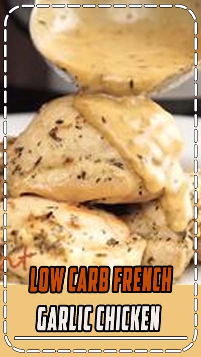 Low Carb French Garlic Chicken combines juicy chicken thighs with dijon mustard, garlic, and a mixture of spices together to make a French-inspired dish that is as delicious as it looks. French Garlic Chicken | Garlic Chicken Recipe | Low Carb Chicken Recipe | French Chicken Recipe | Smothered Chicken Recipe | Chicken Dinner Recipe | Keto Chicken Dinner Recipe | TwoSleevers #lowcarbchicken #garlicchicken #chickendinner #frenchcuisine #lowcarbchickenrecipes #lowcarbrecipes #healthy #trusturvashi