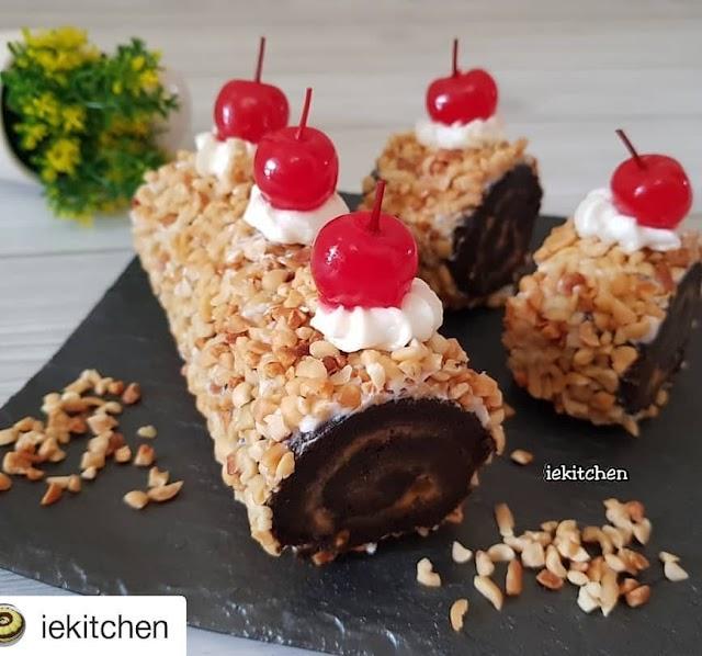 Resep Roll Cake - Roll Cake Skippy