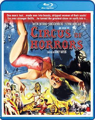 Circus Of Horrors 1960 Bluray