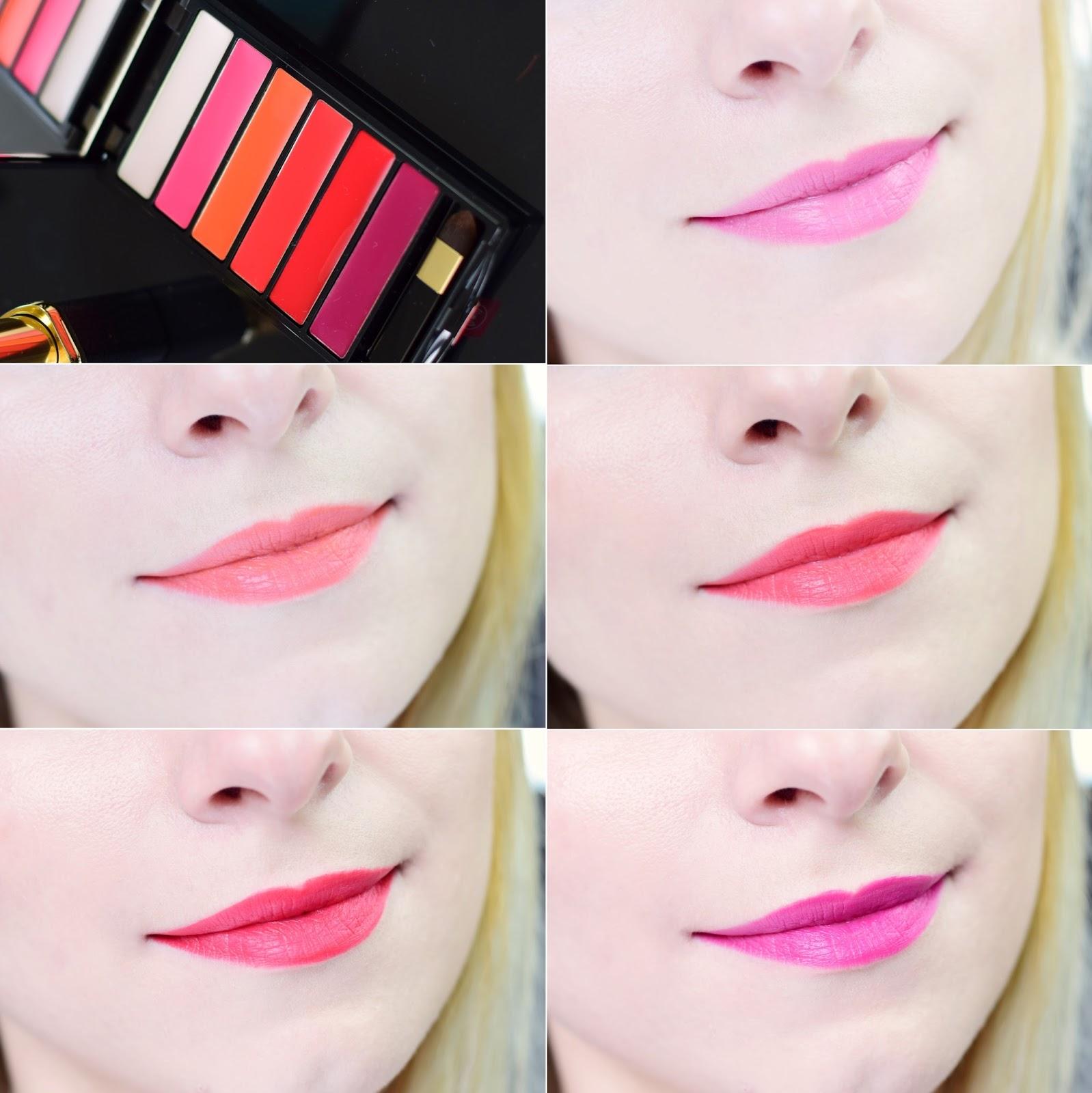 loreal_color_riche_la_palette_matte_paleta_pomadek_baza_opinia_recenzja_swatche_blog