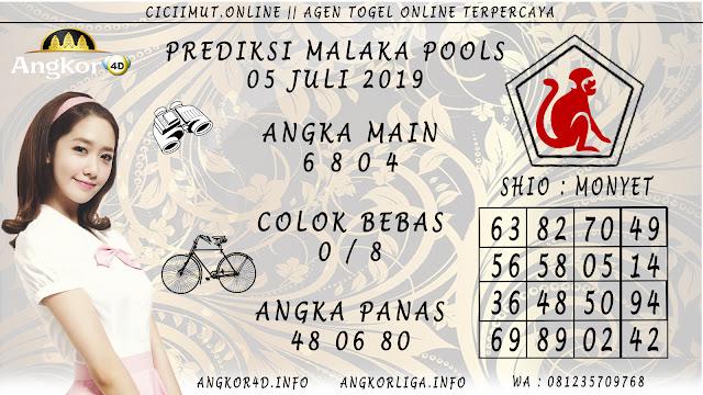 PREDIKSI MALAKA POOLS 05 JULI 2019