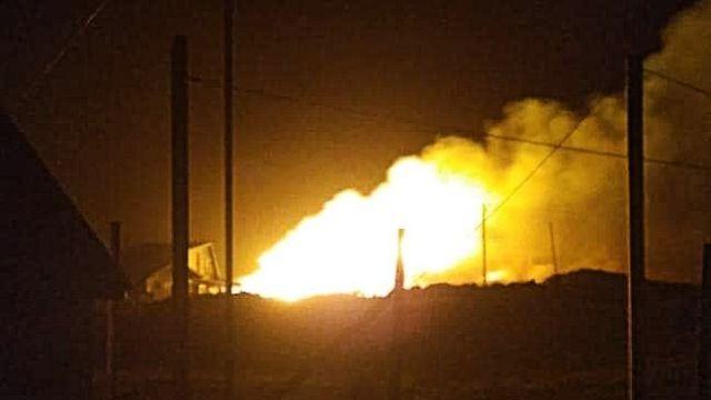 Incendio en Choroy Traiguen deja un hombre con quemaduras y una vivienda destruida