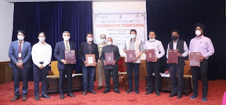 NTPC REL signed a MoU with the UT of Ladakh