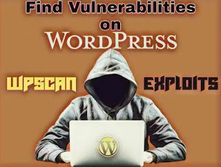 wpscan on Kali Linux