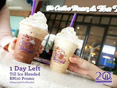 The Coffee Bean & Tea Leaf Malaysia Ice Blended Beverage
