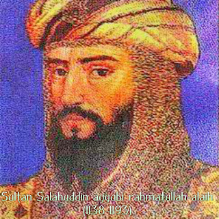Real pic of Sultan Salahuddin Ayubi