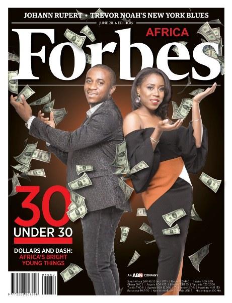 Forbes Africa 30 under 30 2016