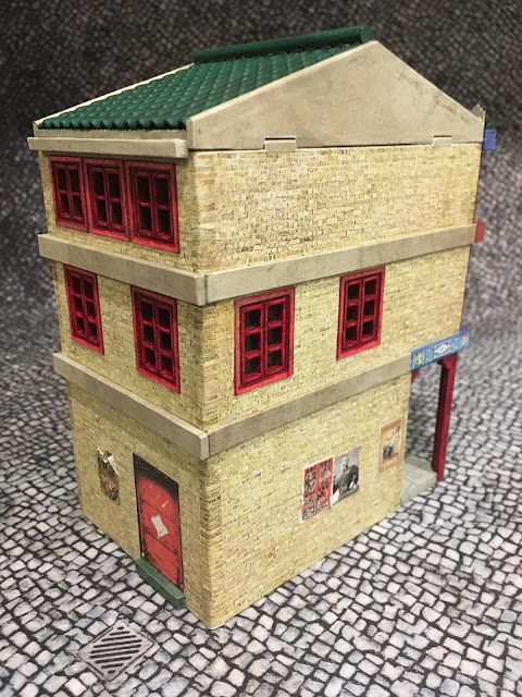 28mm Chinese Building: Dragonfrog Games MDF Asian Shop 5/6 comb