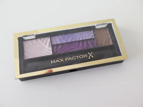 Max Factor Smoky Eye Drama Eyeshadow Palette Akių šešėliai 04 Luxe Lilacs