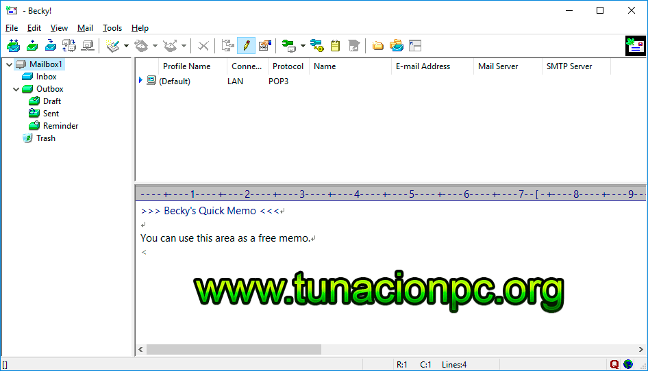 Descargar Becky Internet Mail