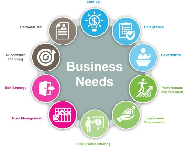 business needs company plan