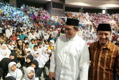 Aher Luncurkan Gerakan Ayo Ke Masjid bersama JPRMI