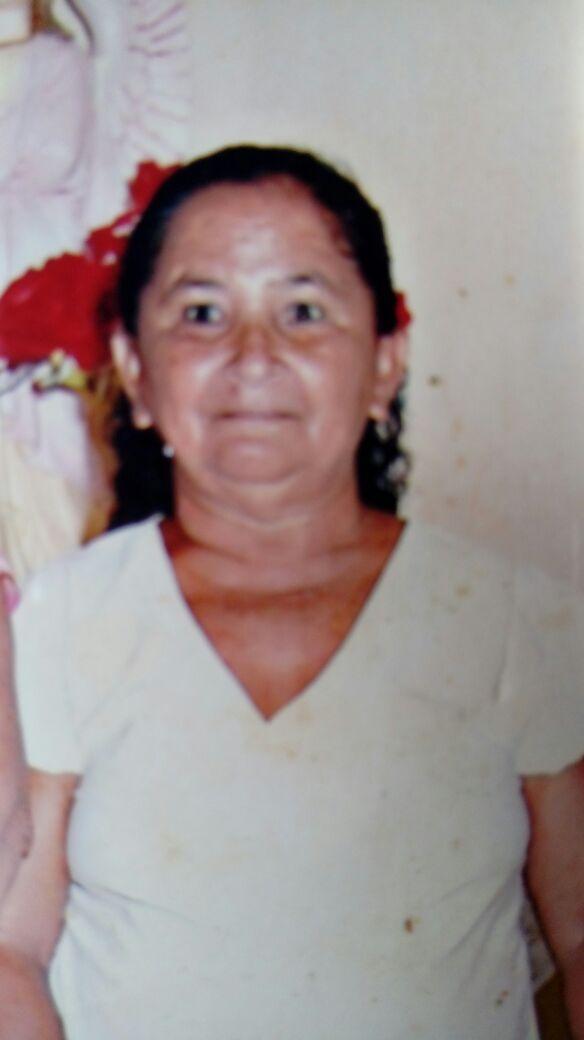 """Dona """"Maria do Bastião Preto"""", moradora do Capitão Mundoco em Elesbão Veloso morre aos 68 anos."""