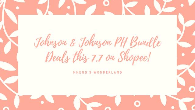 Johnson & Johnson PH Bundle Deals this 7.7 on Shopee!