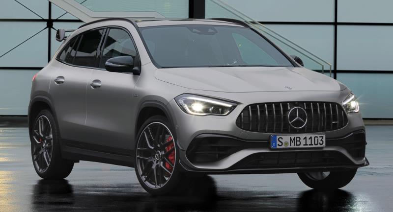 Mercedes-AMG GLA 45 2021, chiến binh mới của 'ngôi sao ba cánh'
