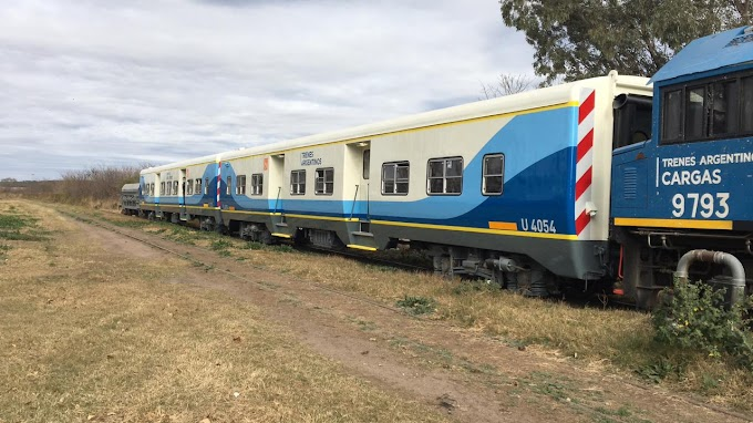 Están reacondicionados los coches afectados al servicio ferroviario Santa Fe - Laguna Paiva
