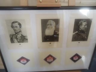 Three Kings of Belgium Coudenberg in Brussels