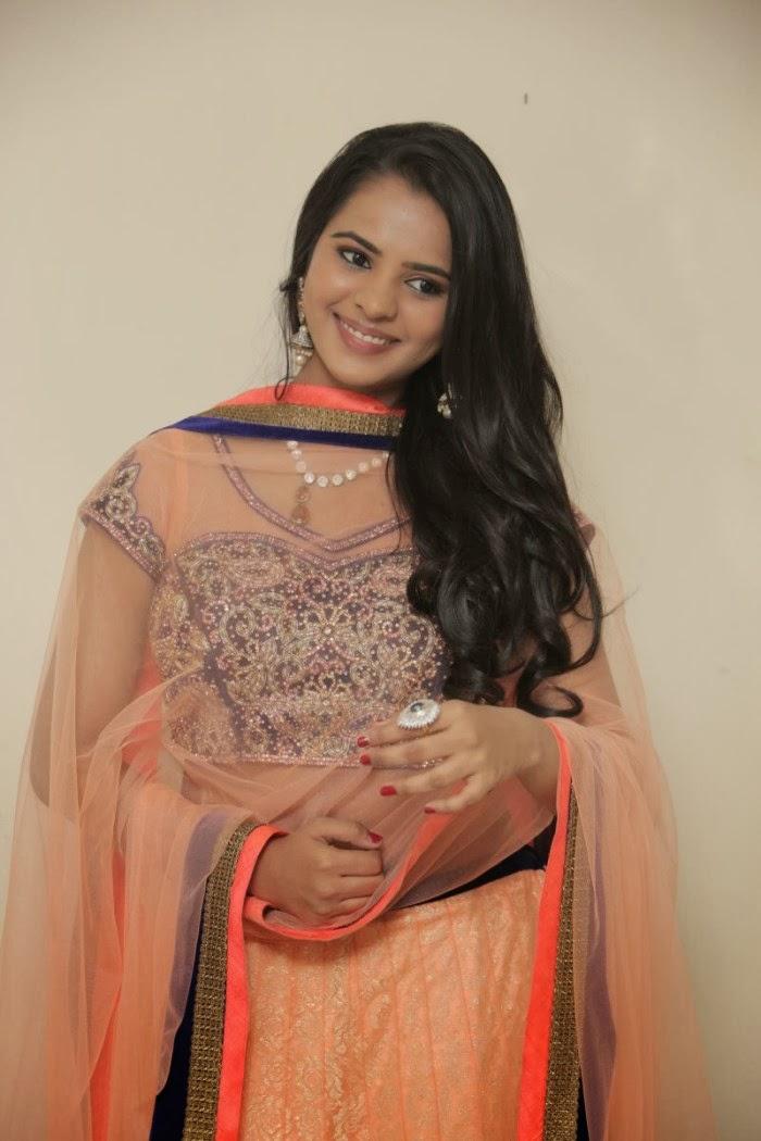 Exotic Manasa himavarsha latest hot photo gallery in saree