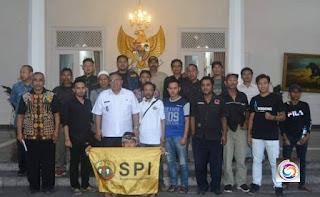 DPC SPI dan Bupati Sukabumi