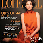 Nargis Fakhri Hot Photoshoot in L officiel Magazine   2014
