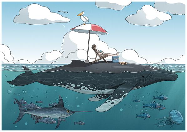 Bestiario: La ballena