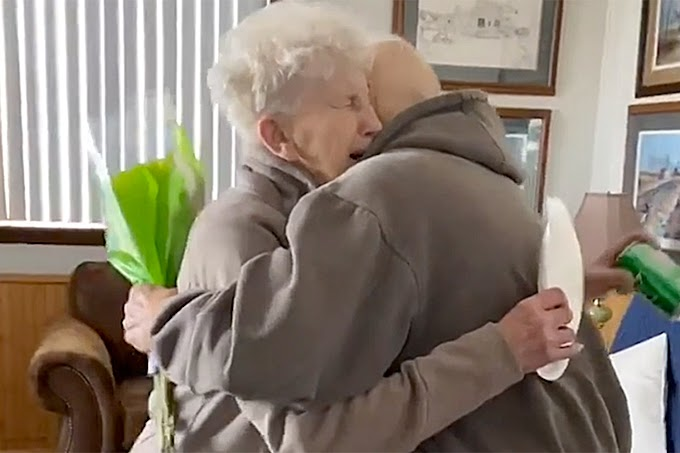 An Old Minnesota Couple is Proving that Love Knows no Boundaries not Even in a Global Pandemic