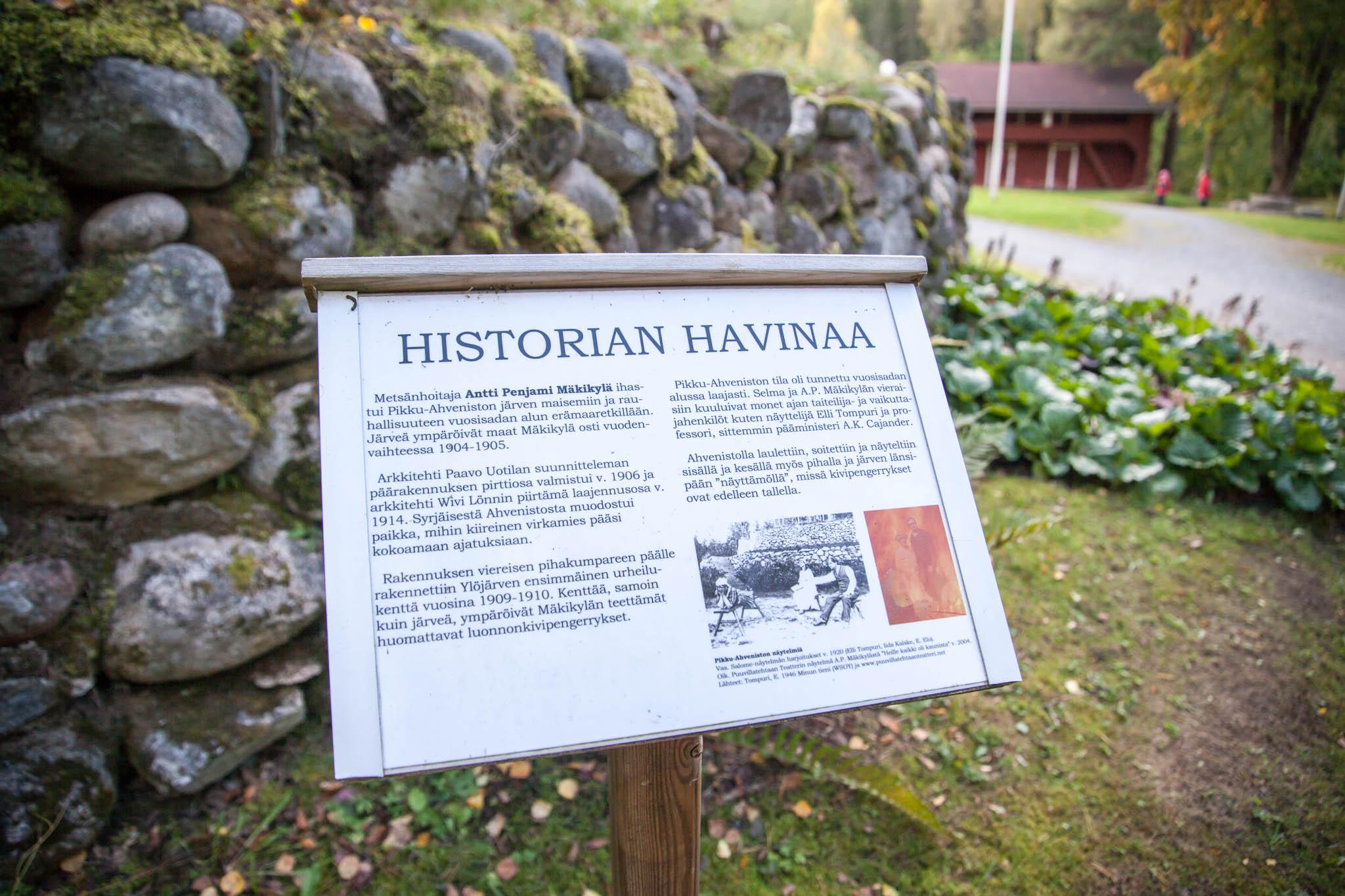 historian havinaa Antti Penjami Mäkikylä