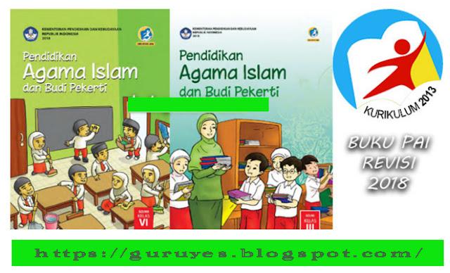 Kumpulan Buku PAI SD/MI Kurikulum 2013 Revisi 2018