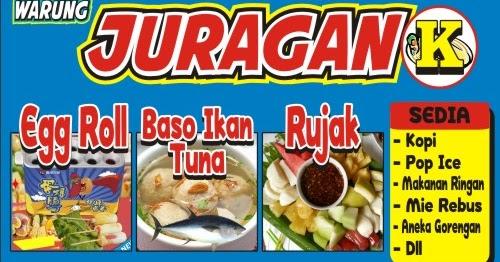 Download Contoh Spanduk Bakso Ikan Format CDR - KARYAKU