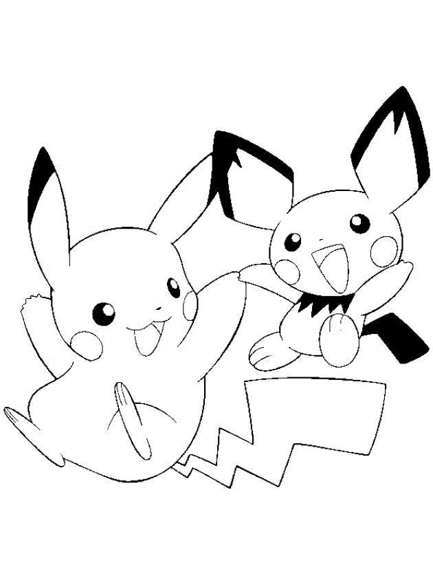 Pokemon Para Colorir Desenhos