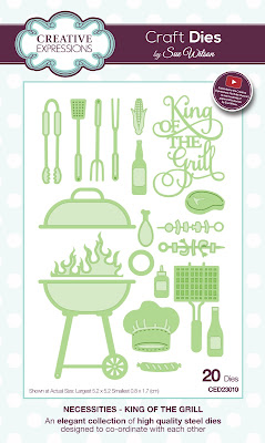 Creative Expressions Necessities Collection King of the Grill Dies CED23010