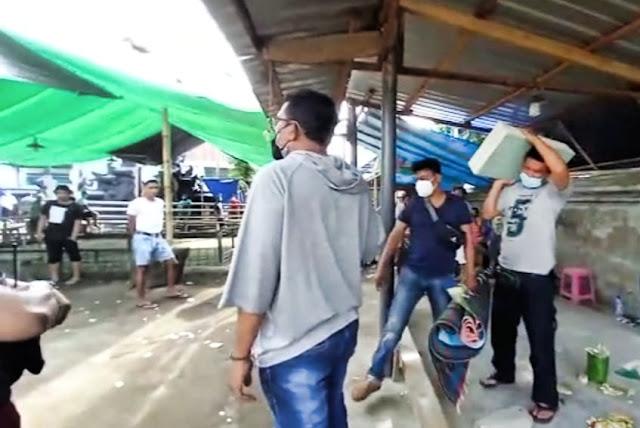 Polisi gerebek judi sabung ayam dan bola adil di Cakranegara