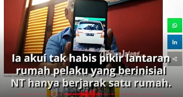Pria di Semarang Kehilangan Mobil Selama 3 Tahun, Ternyata Dicuri Tetangganya Berjarak 1 Rumah