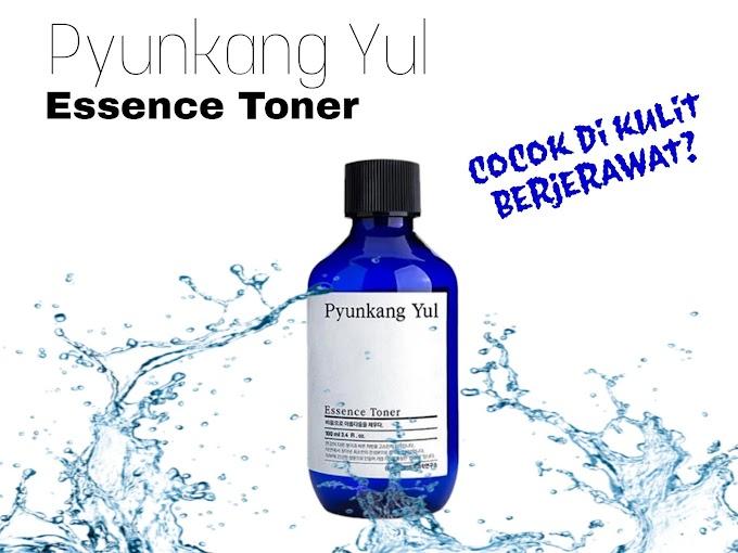 Review Pyunkang Yul Essence Toner di Kulit Acne Prone
