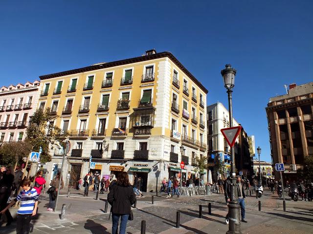 ruta por el centro de Madrid