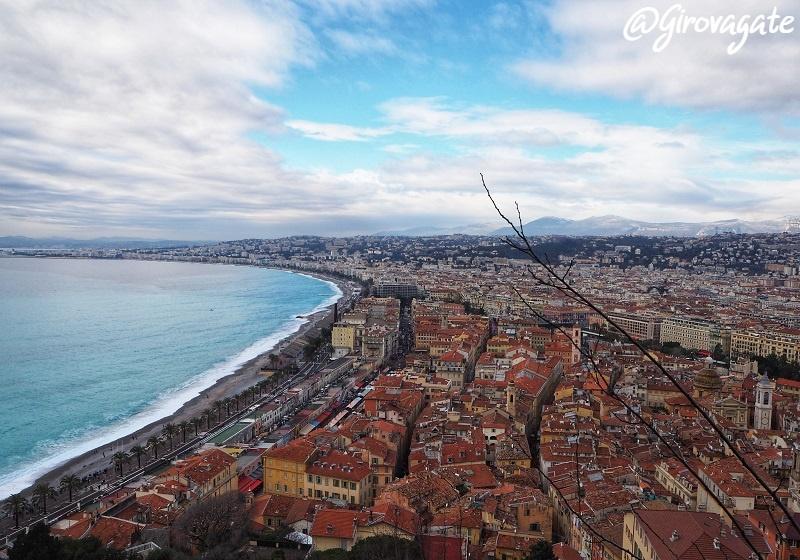 Nizza panorama Costa Azzurra
