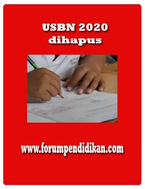 POS USBN 2020 dihapus