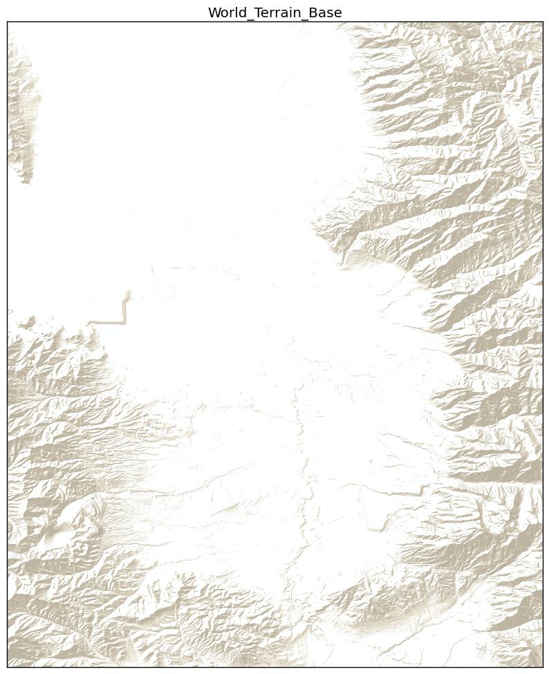 Brian Blaylock's Python Blog: Python Basemap Background Image from