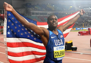 Christian Coleman fastest athletes