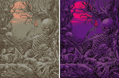 The Awakening Screen Print by Godmachine x Mad Duck Posters