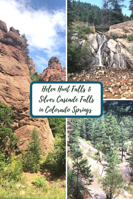 Immersed by Nature at Helen Hunt Falls and Silver Cascade Falls in North Cheyenne Canon Park Colorado Springs in Colorado