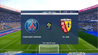 PES 2021 Scoreboard Ligue 1