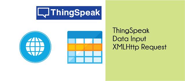 Input Data ThingSpeak via XMLHttpRequest
