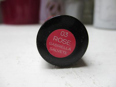 Gabriella Salvete Hydratačný a vysoko pigmentovaný rúž Rose