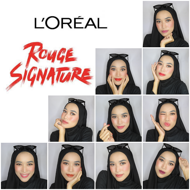 L'oreal Rouge Signature - Parisian Sunset