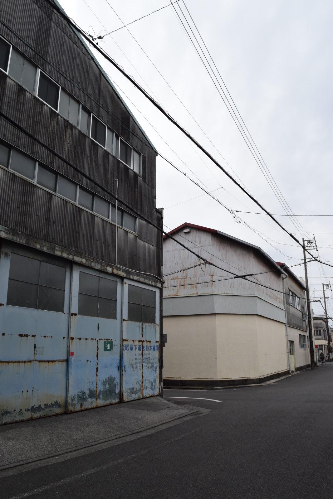 Old warehouse in Shizuoka city