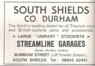 Streamline Garages (South Shields) Limited Motor 5 May 1973