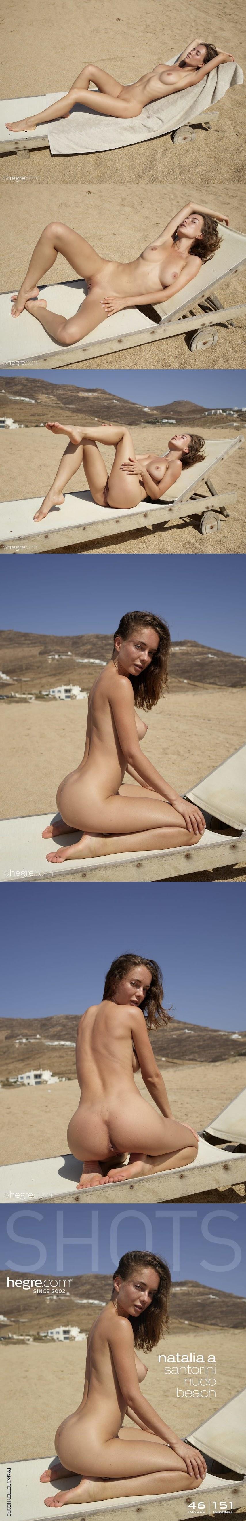 [Art] Natalia A - Santorini Nude Beach sexy girls image jav