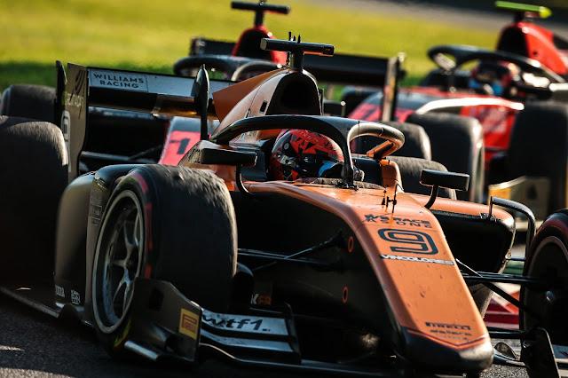 Monza (ITA) SEP 04-6 – Italian Grand Prix at the Monza Eni Circuit. Jack Aitken #09 Campos Racing. © 2020 Diederik van der Laan / Dutch Photo Agency
